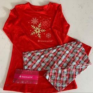 American Girl Holiday Dreams Pajamas, Size 10/12